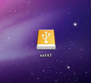 mac external drive exfat
