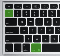mac keyboard cmd switcher cmd + `
