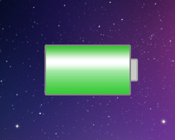 Macbook battery life icon.