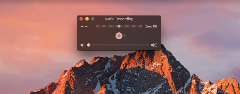 How to record sound on a mac  - MacTip