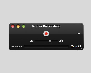 How to record sound on a mac.