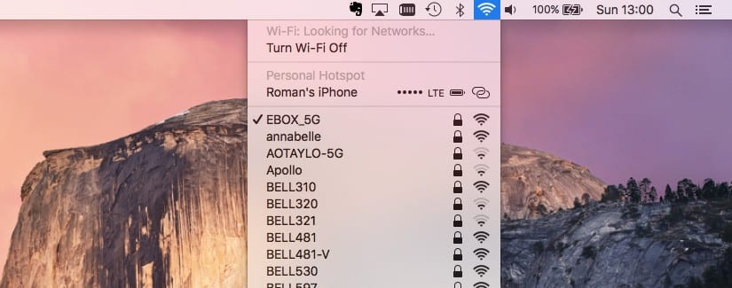 How to find a saved Wi-Fi password on the Mac