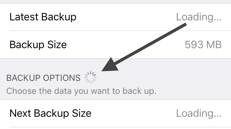 how to delete backup on icloud
