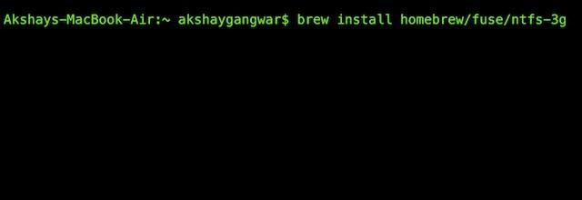 How Enable NTFS Writing On Mac - Write to NTFS Drives - MacTip