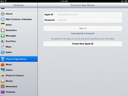 How to Change the Apple ID on the iPad - MacTip
