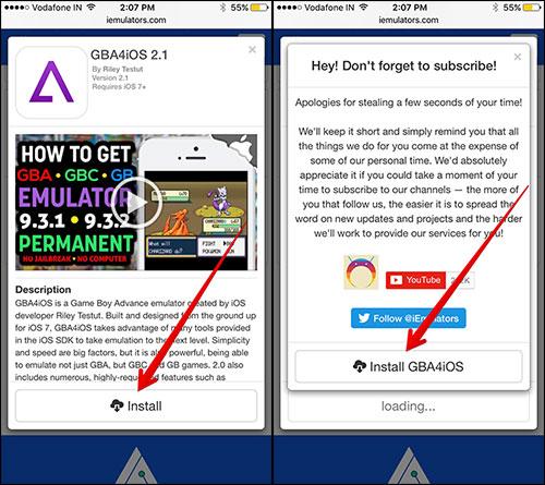 How to Install GBA4iOS on iPhone iOS 11 or iOS 10 - MacTip