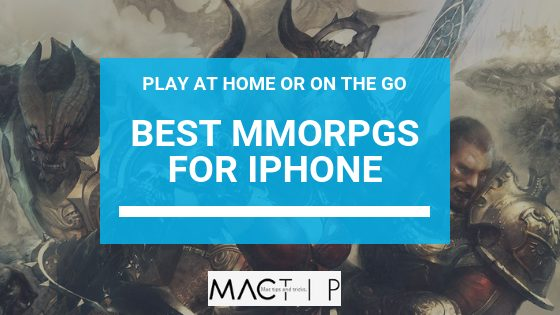 Best MMORPGs to Play at Home or On the Go- For iPad and