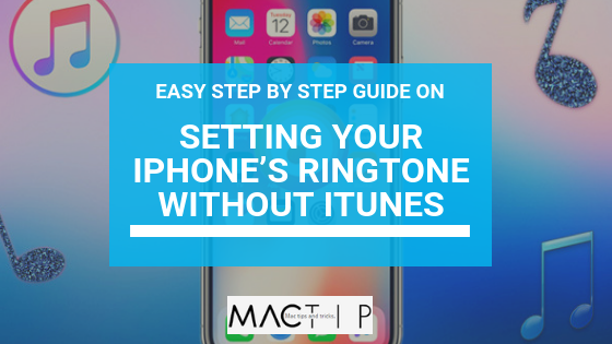 how to set ringtone in iphone se without itunes