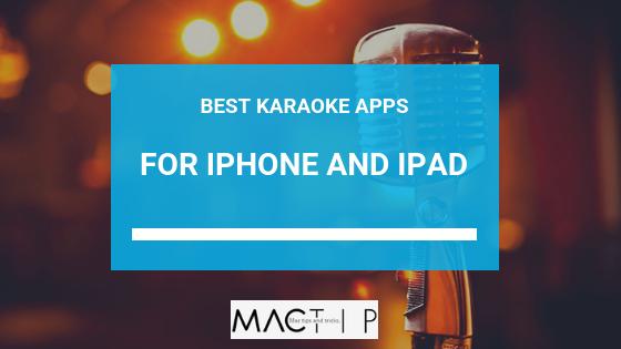 5+ Best Karaoke Apps for iPhone iPad - MacTip
