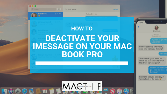 How to Turn Off iMessage on MacBook Pro - MacTip